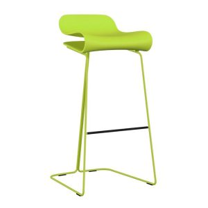 BCN-Slide-base-Barstool-Green-by-Kristalia