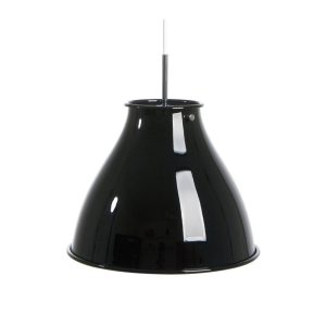 Dome-Pendant-Light-Black