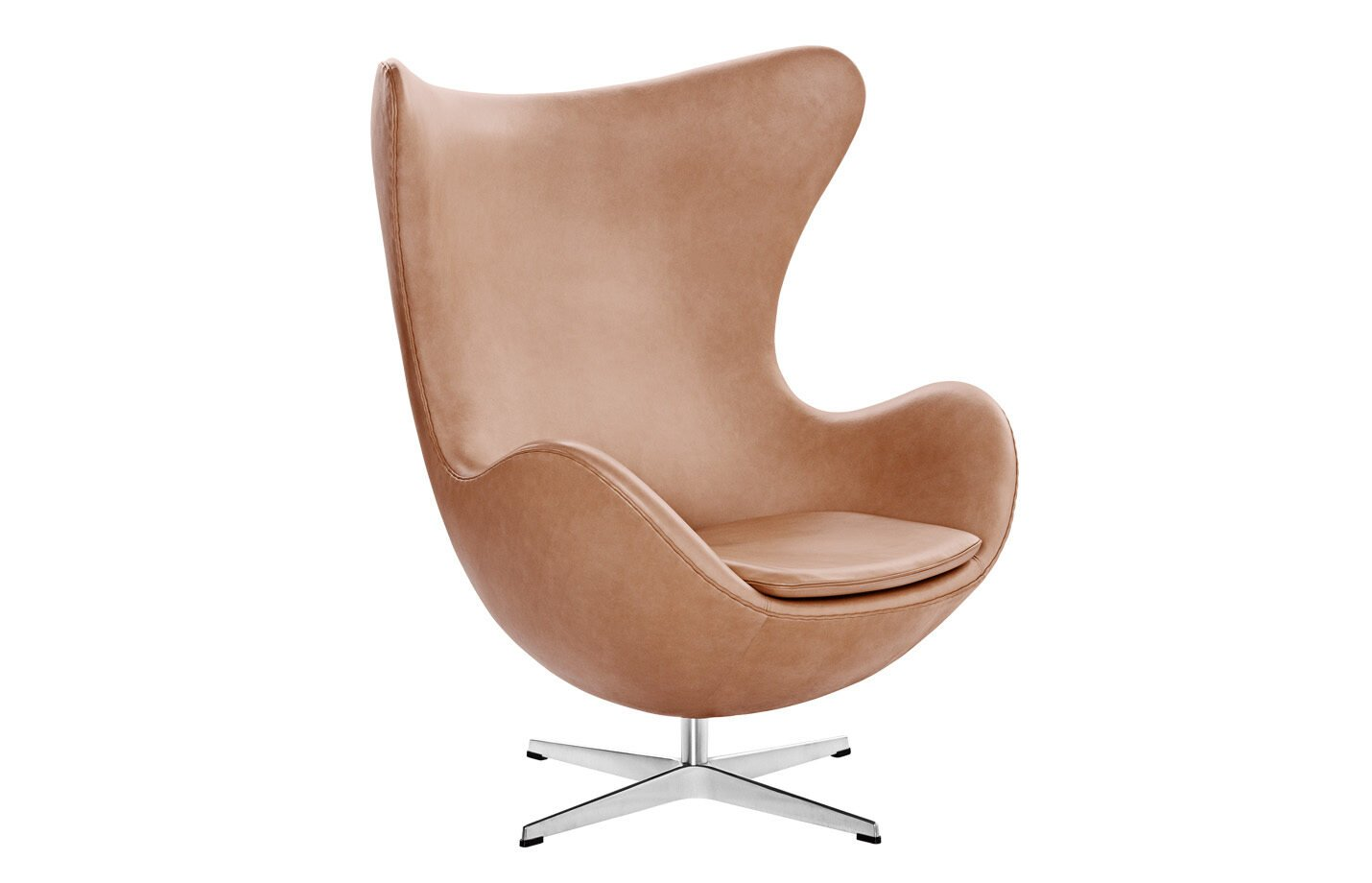 Egg-Lounge-Chair-Leather-Rustik
