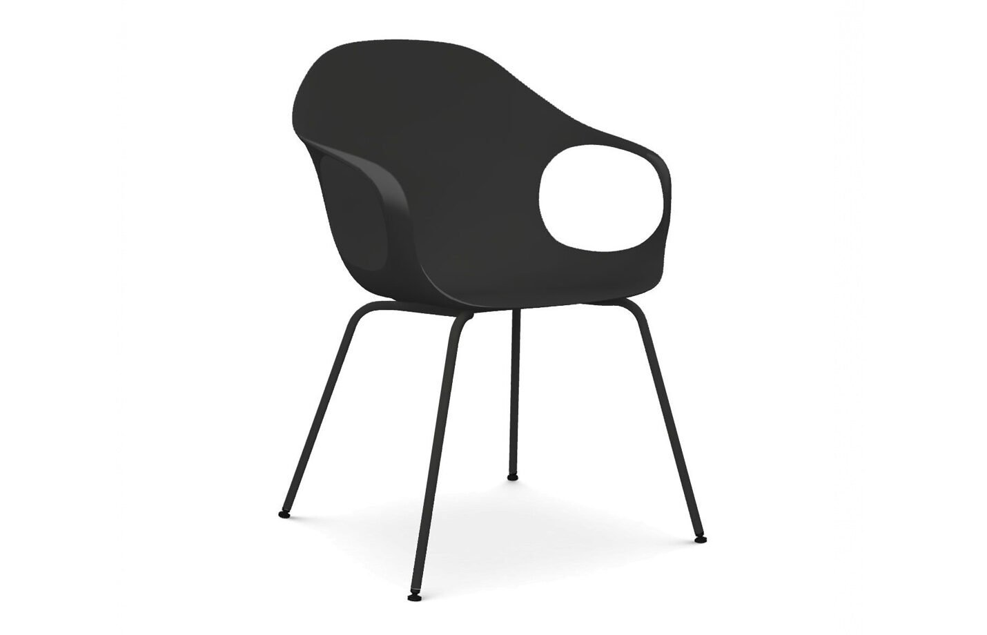 Elephant-dining-chair-Black-by-Kristalia