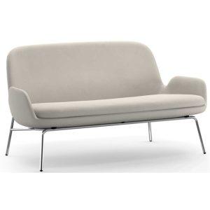 Era-2-Seater-Sofa-Beige-Chrome-by-Normann