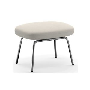 Era-Footstool-Beige-Chrome-by-Normann