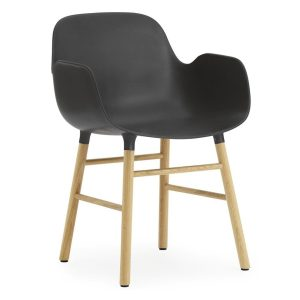 Form-armchair-oak-black