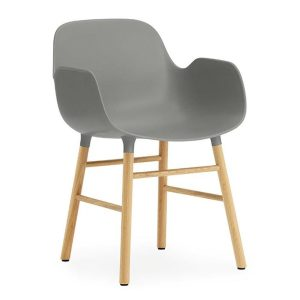 Form-armchair-oak-grey-by-Normann