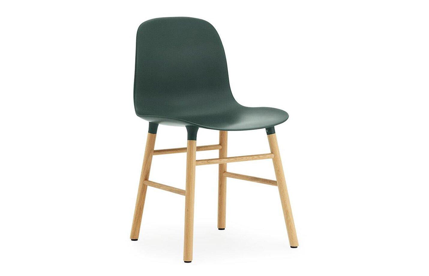 Form-chair-oak-Green-by-Normann