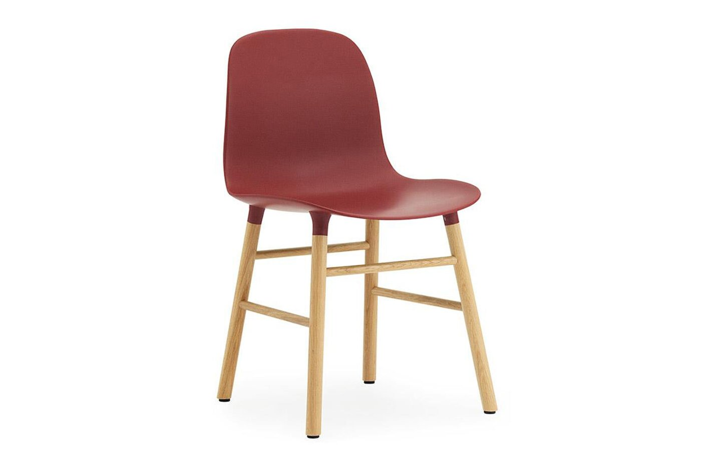 Form-chair-oak-Red-by-Normann