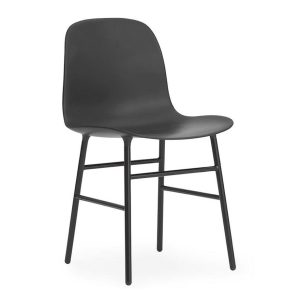 Form-chair-steel-Black-by-Normann