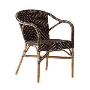 Madeleine-chair-armrest-Rattan-Brown