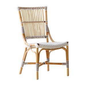 Monique chair - Rattan - White - cappuccino