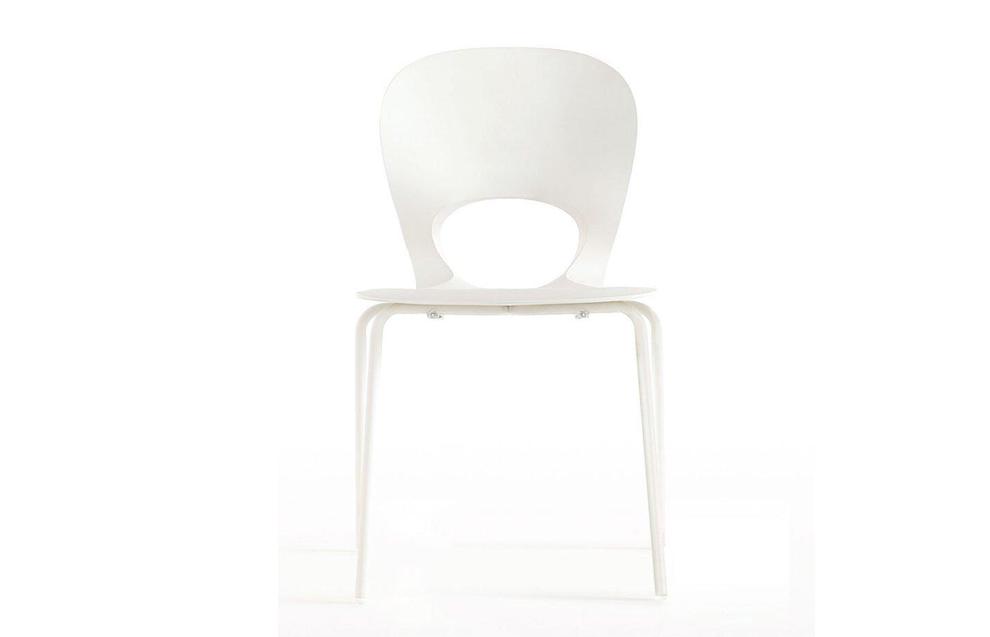 Pikaia-Four-Legs-chair-White-by-Kristalia