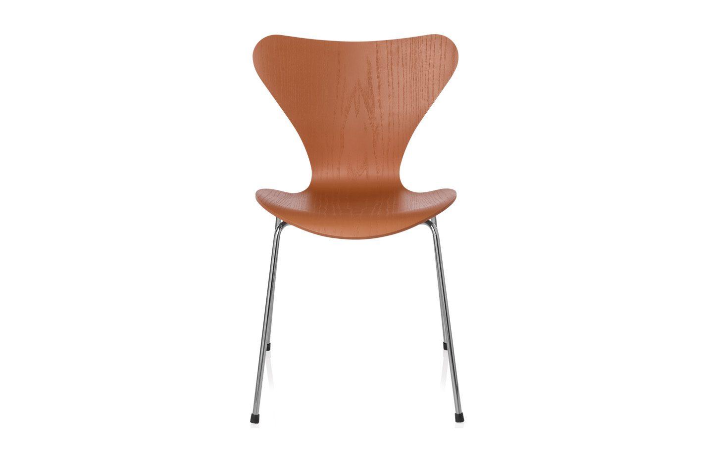 Series-7-Chair-Coloured-Ash-wood-Orange