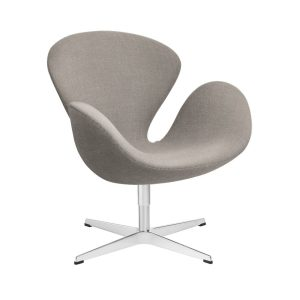 Swan-lounge-chair-fabric-Christianshavn-Light-Beige