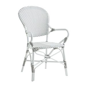 Isabell-Alu-Rattan-Arm-Chair-White