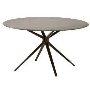 Moai-Round-aluminium-dining-table-outdoor